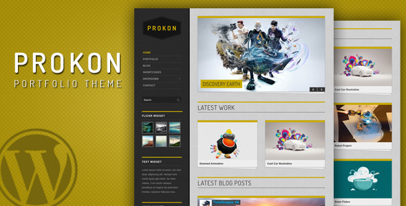 Prokon - clean and easy Portfolio and Blog Theme