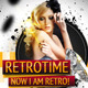 RetroTime Party Flyer Template - GraphicRiver Item for Sale