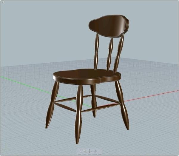 3DOcean Classic chair 2425510