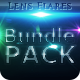18 Unique Lens Flares - Light Effects Bundle 1-3