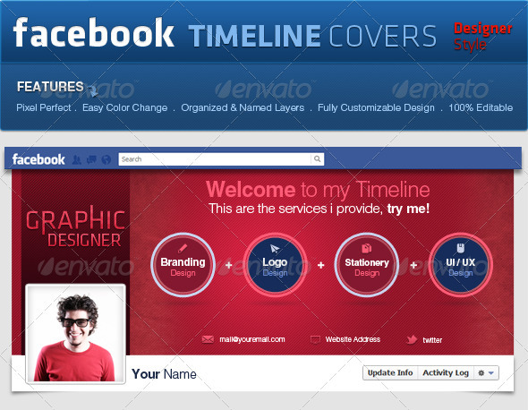 Facebook Covers Pro Style - Facebook Timeline Covers Social Media