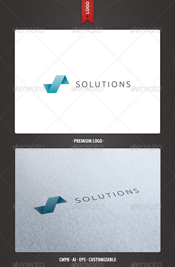 Solutions - Abstract Logo Template - Abstract Logo Templates