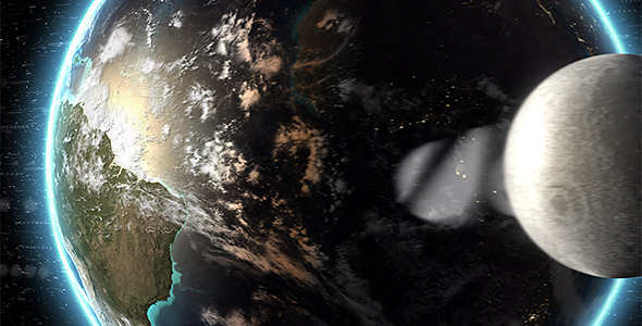 After Effects Project - VideoHive Earth Logo Reveal 2430579