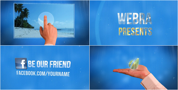 VideoHive Oxygen Touch Style Slideshow 2430687