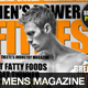 Men's Power Fitness Magazine Cover Template - GraphicRiver Item for Sale