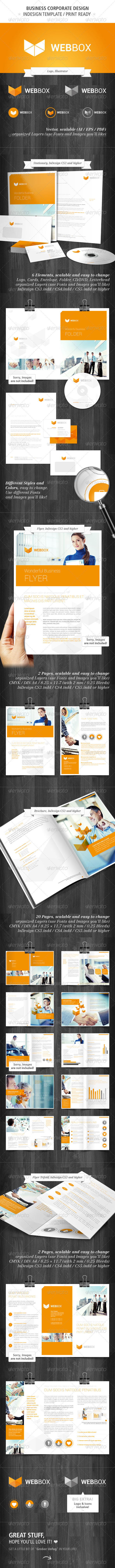 GraphicRiver Business Corporate Design 2431154