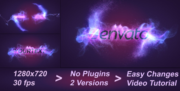 After Effects Project - VideoHive ColorFull Particles Logo Reveal 2433103