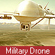 Military Drone (UAV) Seeking Enemies - VideoHive Item for Sale