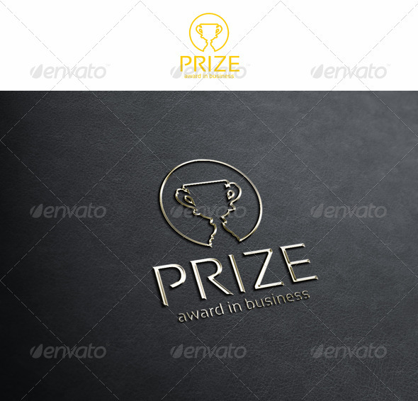 Prize - Award in Business - Symbols Logo Templates