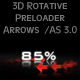 3D Rotative Preloader ARROWS / AS 3.0 - ActiveDen Item for Sale