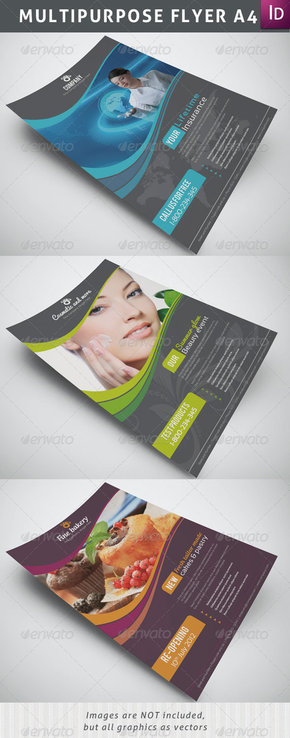 Multipurpose Flyer A4 - Corporate Flyers