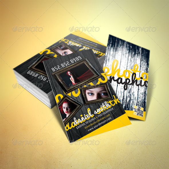 GraphicRiver Photography Business Card 2425106