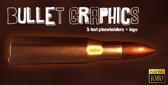 After Effects Project - VideoHive Bullet Graphics Reveal 2437797