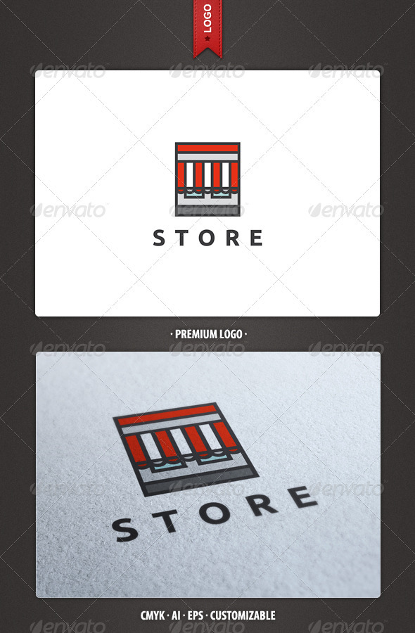 Store Logo Template - Buildings Logo Templates