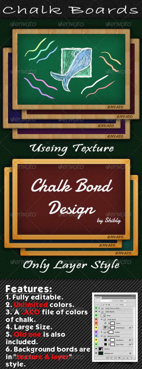 GraphicRiver Chalk Boards 489146