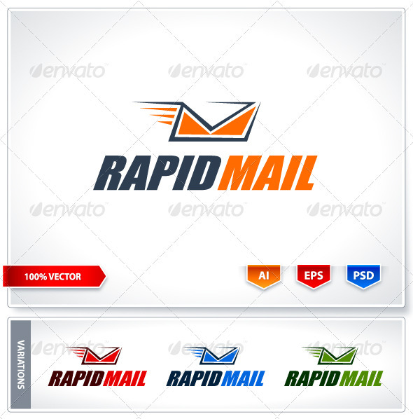 GraphicRiver Rapid mail logo template 2440432