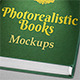 Photorealistic Books Mockups for Fonts & Logos - GraphicRiver Item for Sale