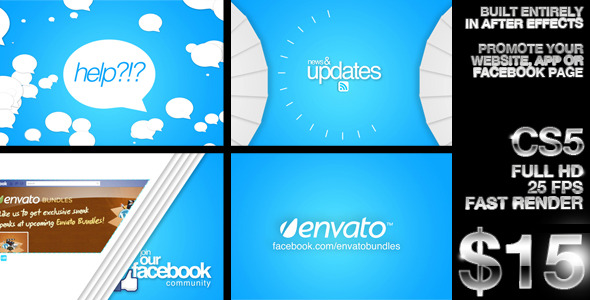 After Effects Project - VideoHive Company Promotion Like our Facebook Page 2341057