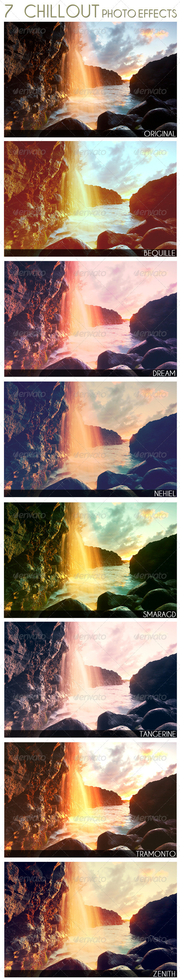 GraphicRiver 7 Chillout Photo Effects 2441601