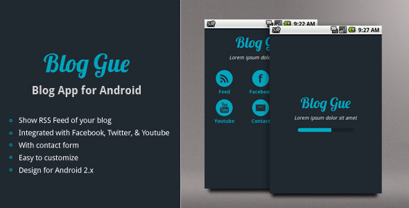 CodeCanyon Blog Gue Blog App for Android 2442078