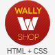 WallyShop eCommerce HTML Template - ThemeForest Item for Sale