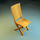 Realistic Chair Model - 3DOcean Item for Sale