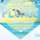 Take the Plunge Baptism Flyer and CD Template - GraphicRiver Item for Sale