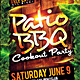 Patio BBQ Party Flyer - GraphicRiver Item for Sale