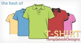 The Best Of T-shirt Templates &amp; Design