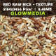 Red Raw Rice/ Textural Background - GraphicRiver Item for Sale