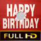 Happy Birthday Intro With Alpha - VideoHive Item for Sale