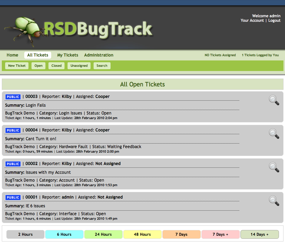 RSD Bugtrack