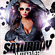Saturday HotFever Nights - GraphicRiver Item for Sale