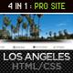 Los Angeles – Premium Portfolio Template   Free Download