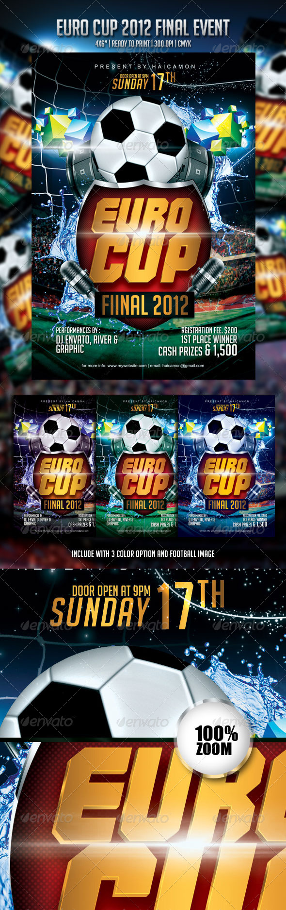 GraphicRiver Euro Cup Final 2012 Event Flyer 2432477