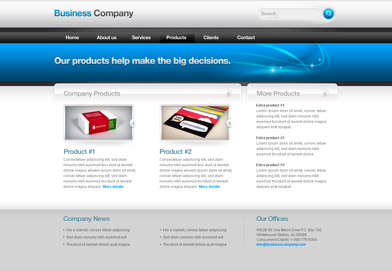 Business Template #02