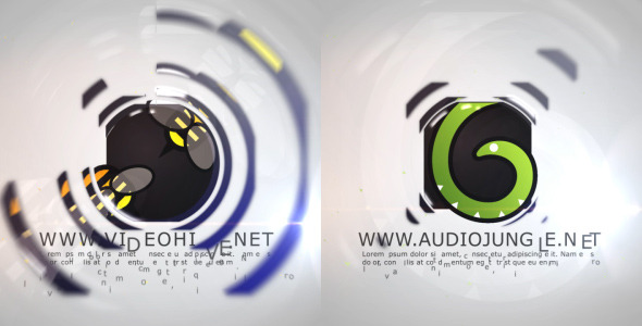 VideoHive Clean Circle Oppener 2456712