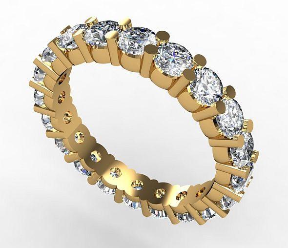 3DOcean Eternity Ring 2457546