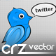 Vector Twitter Icons by Crimz - GraphicRiver Item for Sale