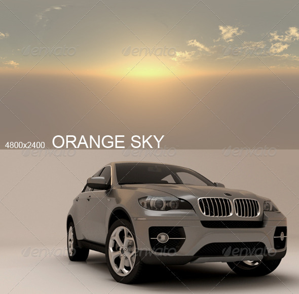 Hdri Orange Sky - 3DOcean Item for Sale