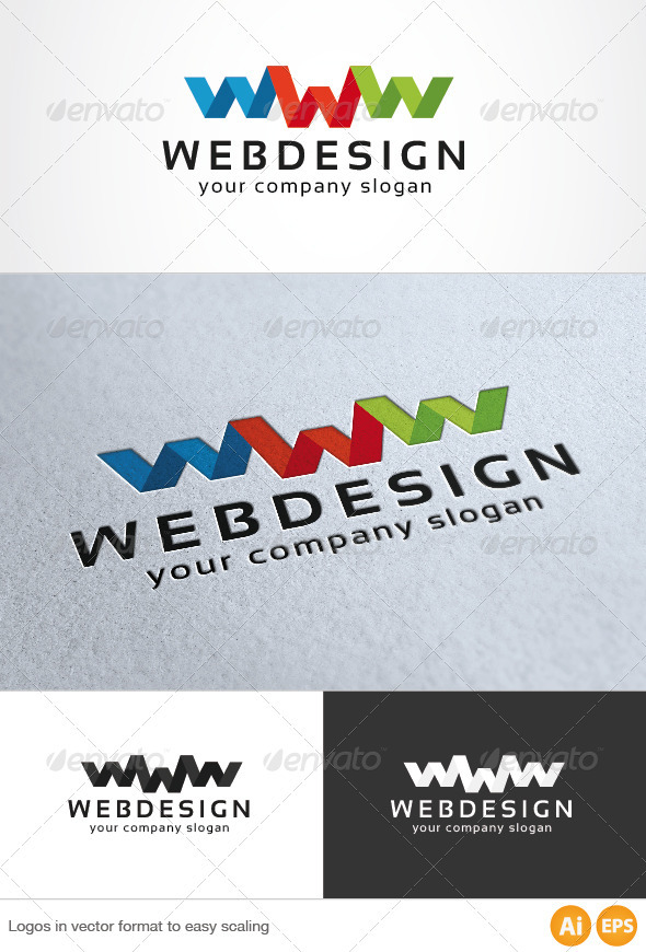 Web Design Logo - Letters Logo Templates