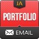 Portfolio Email Template - ThemeForest Item for Sale