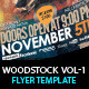 Woodstock PSD Flyer Templates Vol-1 - GraphicRiver Item for Sale