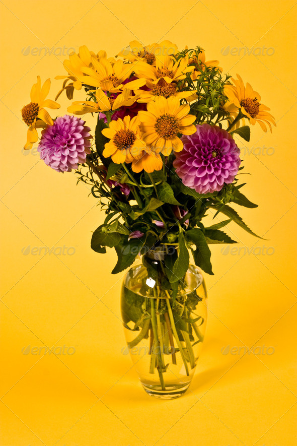bunch of flowers - Stock Photo - Images