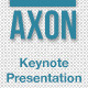 Axon  Keynote Presentation Template - GraphicRiver Item for Sale