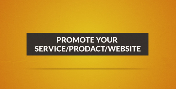 VideoHive Create Your Service Prodact Website Promo 2460637