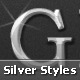 Silver styles - GraphicRiver Item for Sale