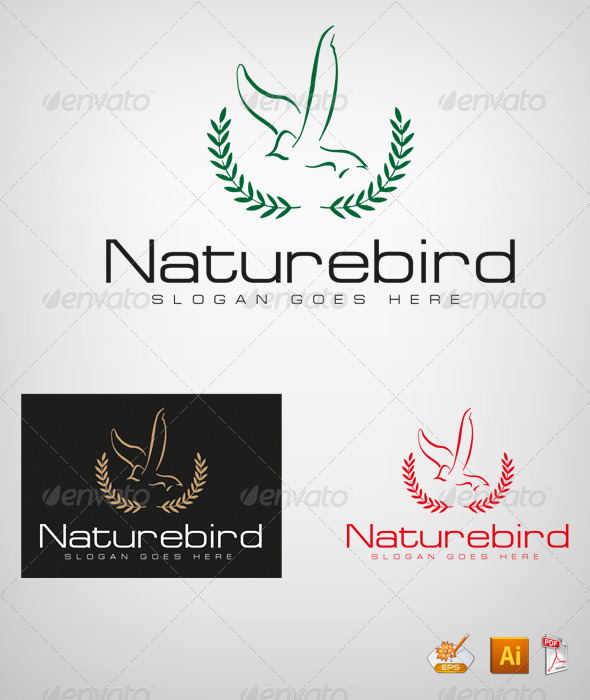 Naturebird - Nature Logo Templates