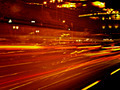 Blurred Lights in Madrid Rush Hour - PhotoDune Item for Sale