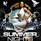 Dark Summer Nights Flyer - GraphicRiver Item for Sale